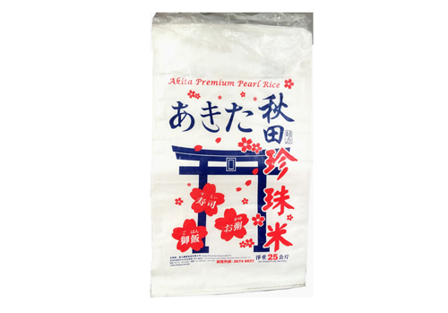 彩印大米塑料编织袋