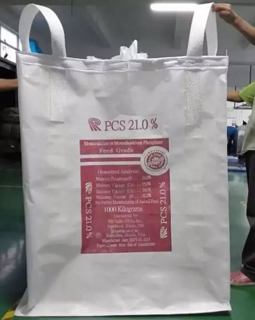 What is the material used in the high temperature ton bag