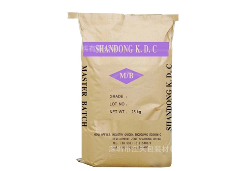 Printed paper plastic composite bag
